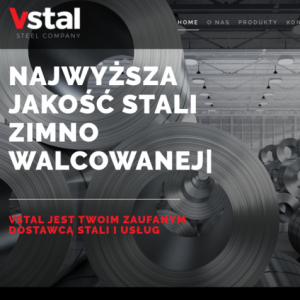Strona www.vstal.pl